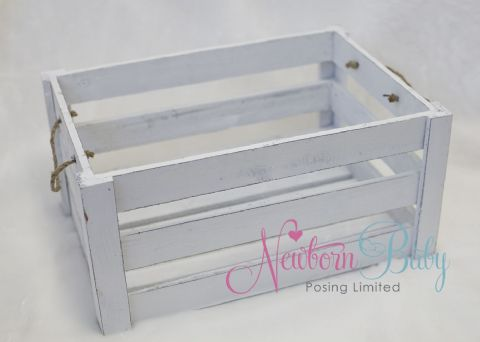 A Simple Crate ~ Larger White